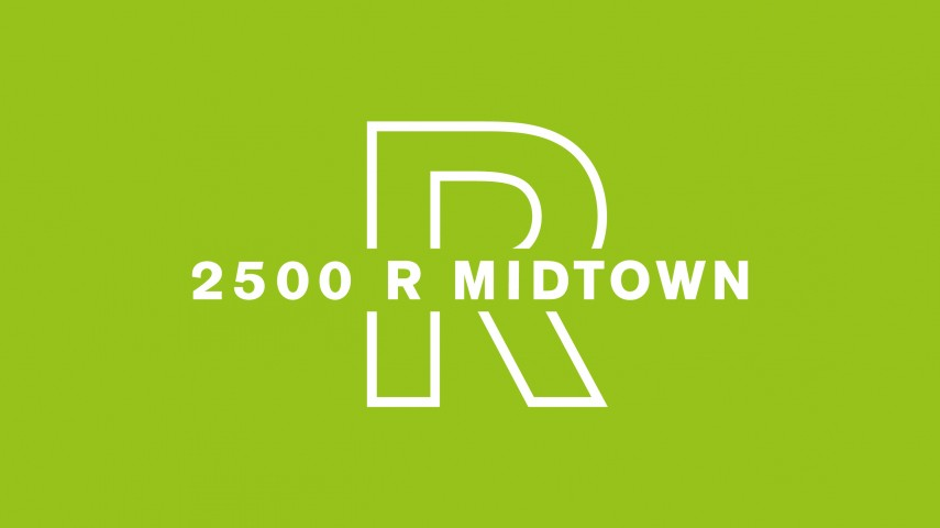 2500 R Midtown | Brand Identity