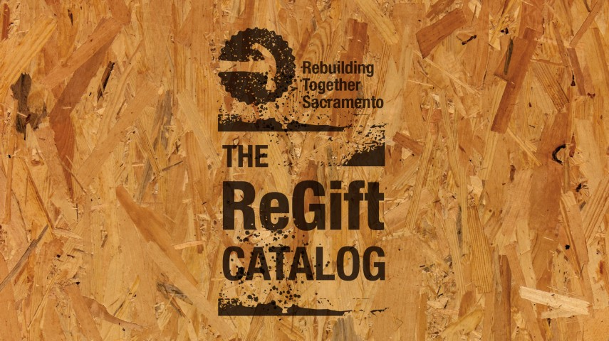 Rebuilding Together Sacramento | Brand Literature