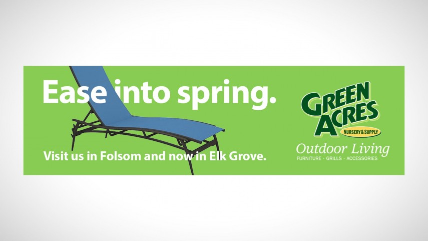 Green Acres Outdoor Living Advertising